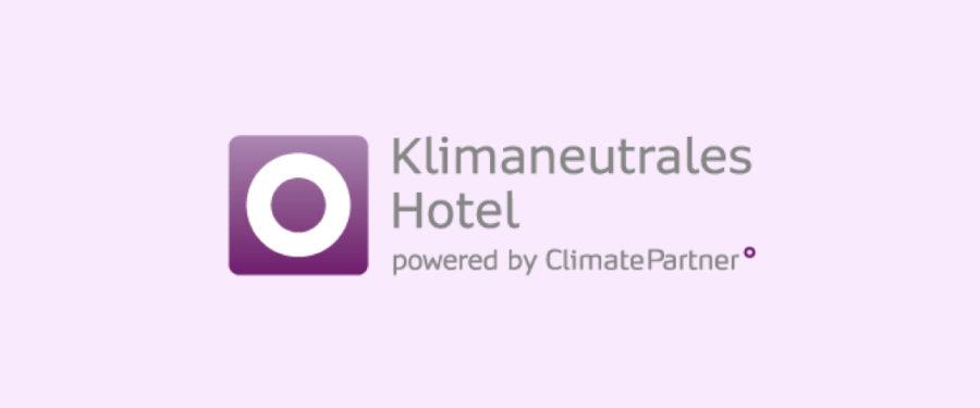 Logo Klimaneutrales Hotel